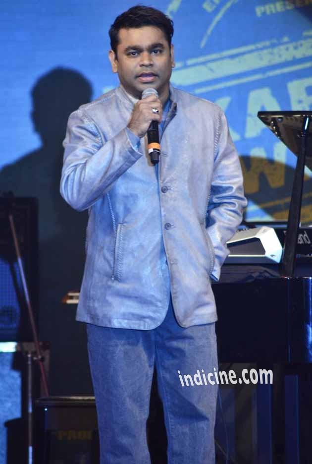 A R Rahman at Lekar Hum Deewana Dil audio release