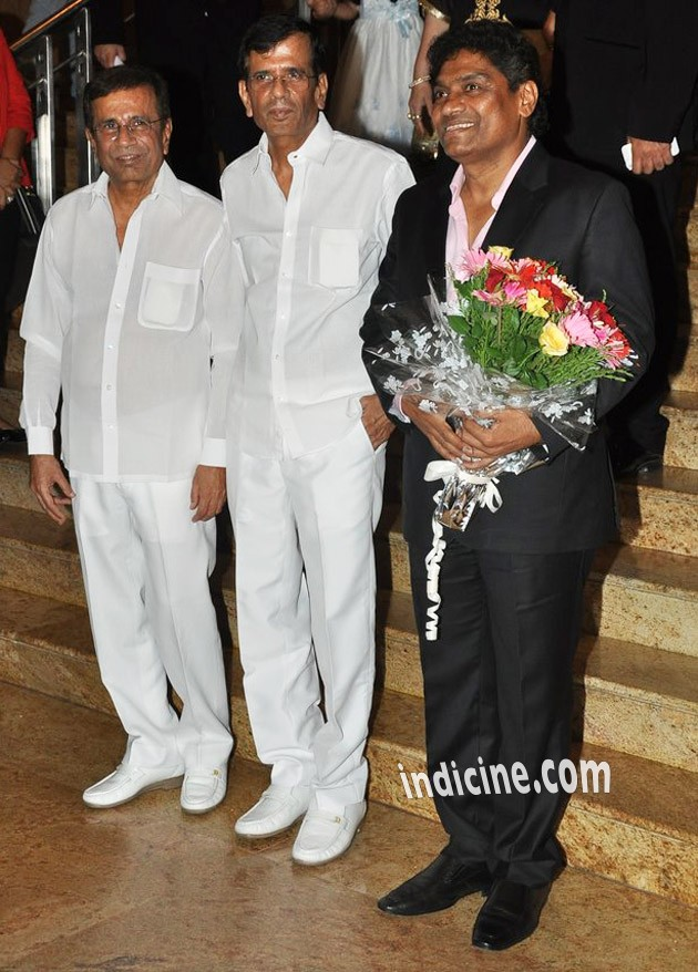 Abbas Burmawalla, Mustan Burmawalla and Johnny Lever