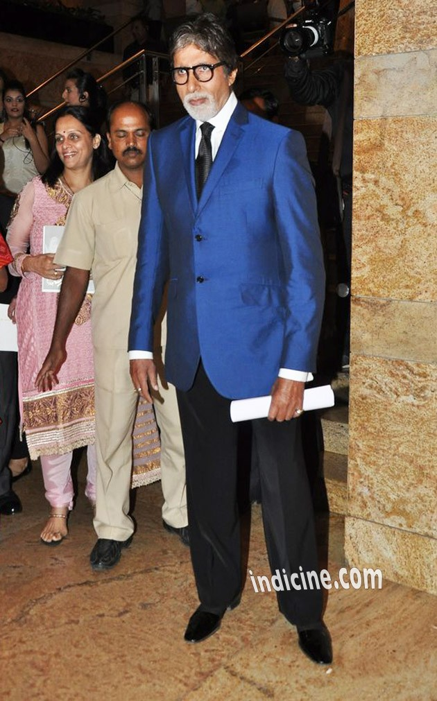 Amitabh Bachchan at Dilip Kumar's autobiography red carpet