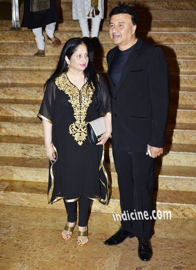 Anu Malik with wife Anju
