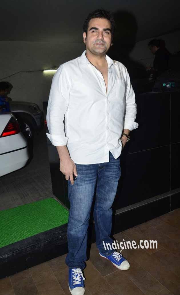 Arbaaz Khan at special screening of Humshakals at Lightbox