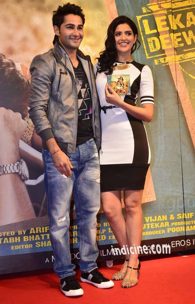 Armaan Jain, Deeksha Seth at Lekar Hum Deewana Dil music launch