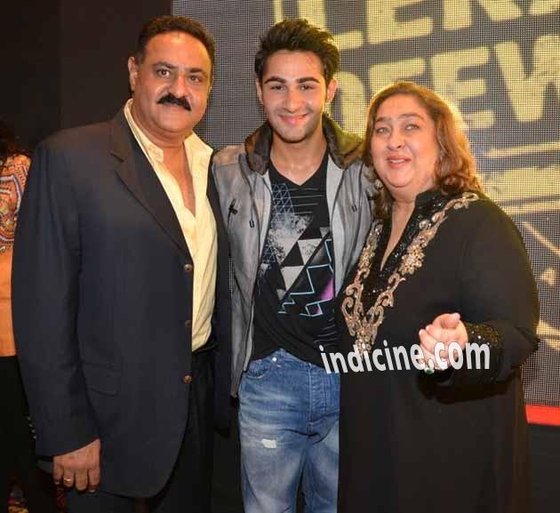 Armaan Jain with mother Rima Jain and father Manoj Jain