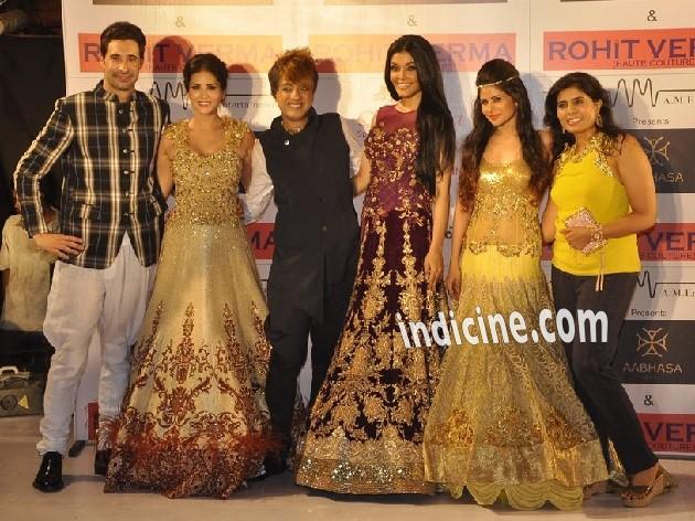 Daniel Weber, Sunny Leone, Rohit Verma, Koena Mitra and Priyanka Shah