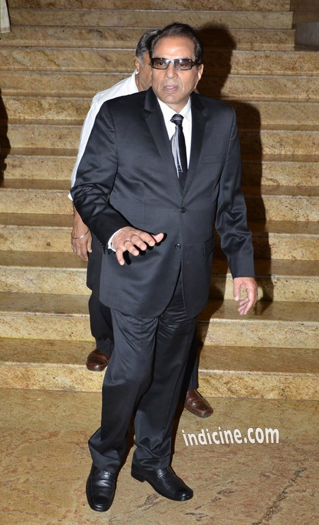 Dharmendra at Dilip Kumar's autobiography launch red carpet