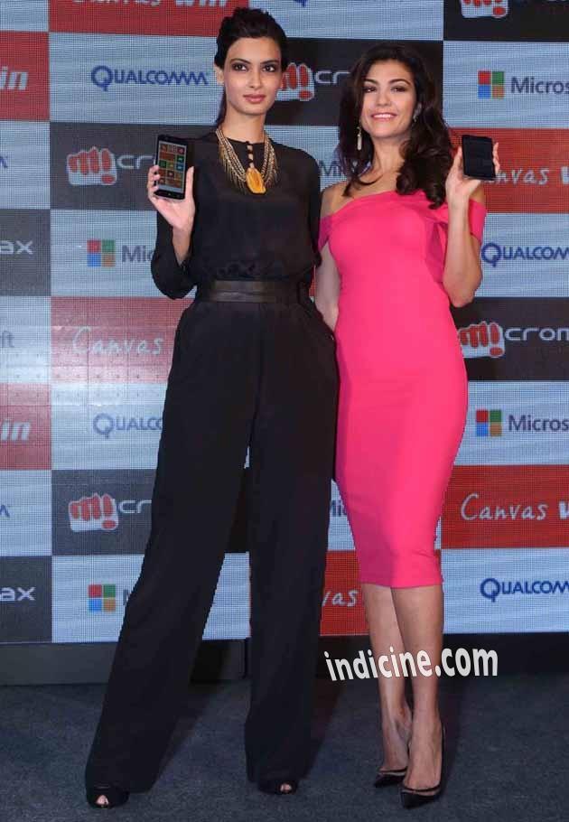 Diana Penty, Archana Vijaya launching Micromax Mobile