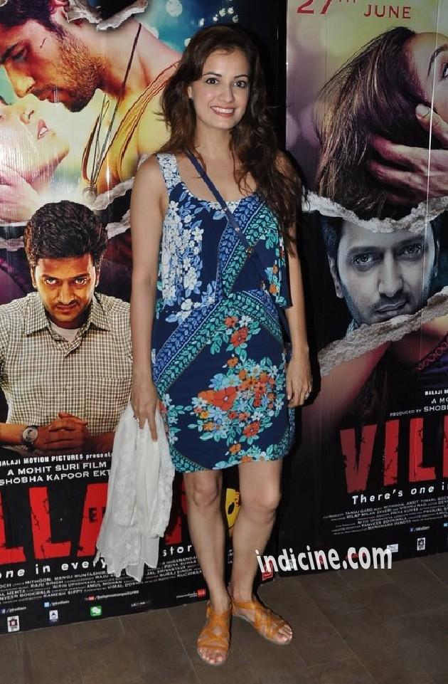 Diya Mirza at special screening of Ek Villain