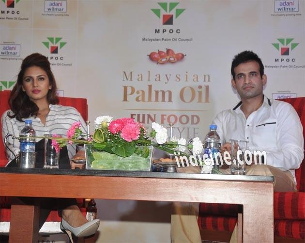 Huma Qureshi, Irfan Pathan launch Malaysian Palm Oil