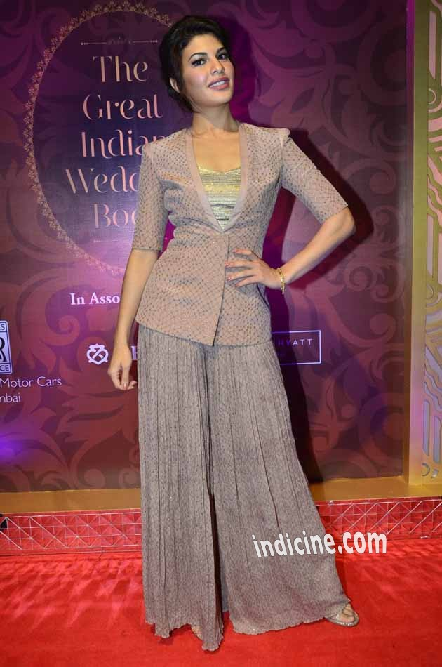 Jacqueline Fernandes unveils The Great Indian Wedding Book