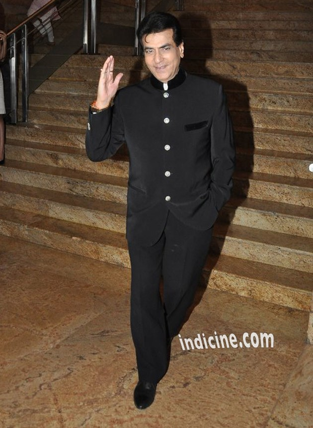 Jeetendra at Dilip Kumar's autobiography red carpet