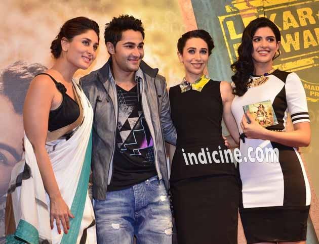 Kareena Kapoor, Armaan Jain, Karishma Kapoor and Deeksha Seth