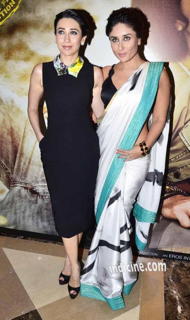 Karishma Kapoor with Kareena Kapoor