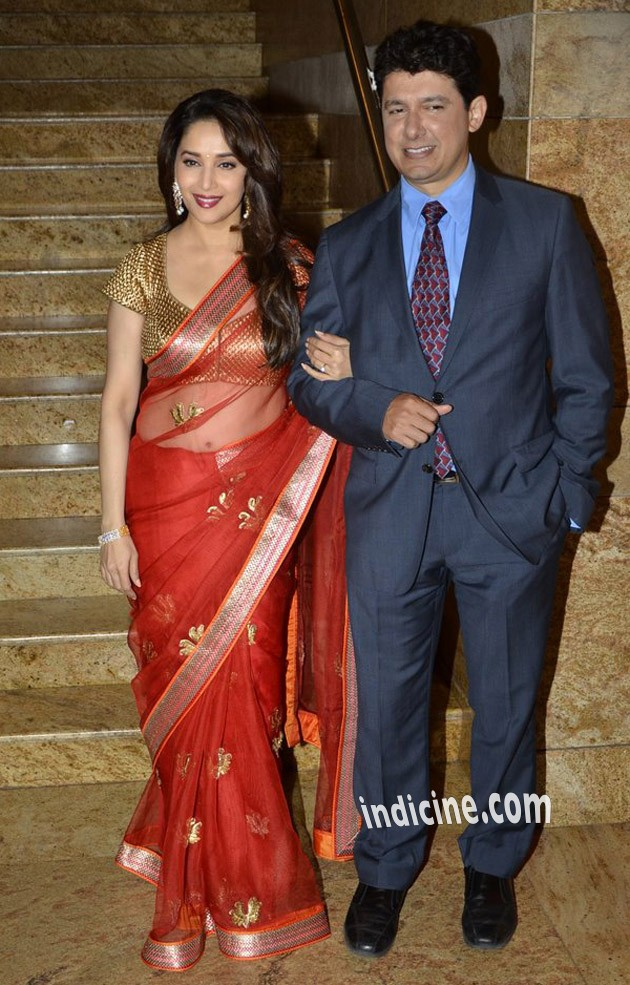 Madhuri Dixit with husband Sriram Madhav Nene
