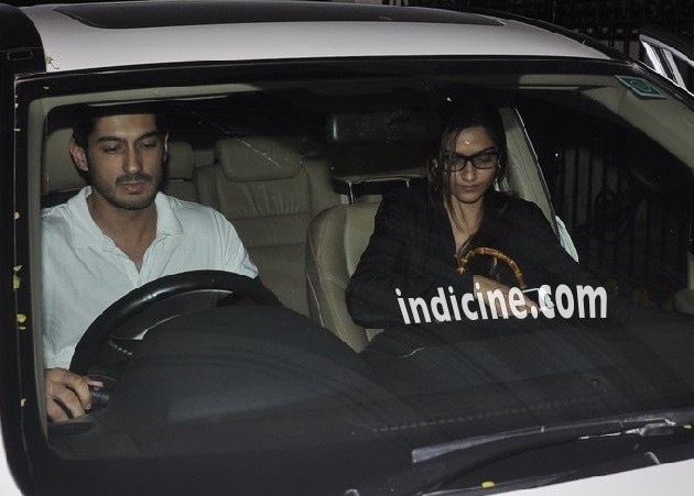 Mohit Marwah with Sonam Kapoor