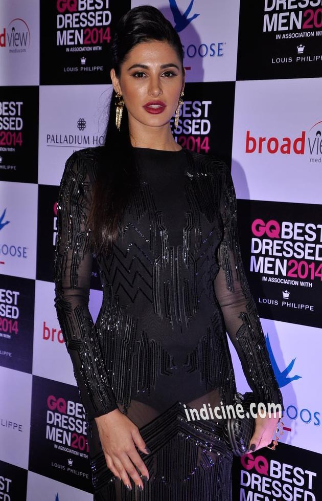 Nargis Fakhri at GQ Best Dressed Men 2014 awards