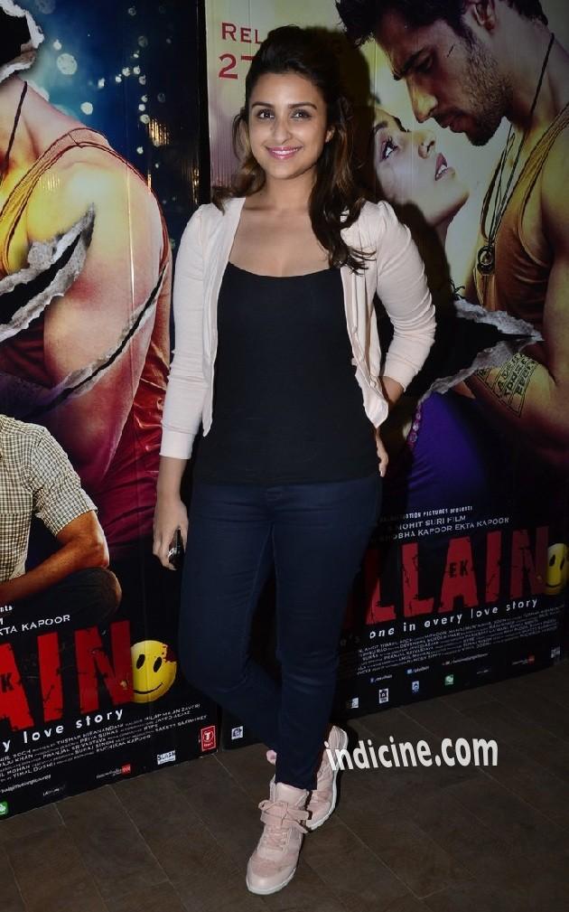 Parineeti Chopra at Ek Villain Special screening at Lightbox