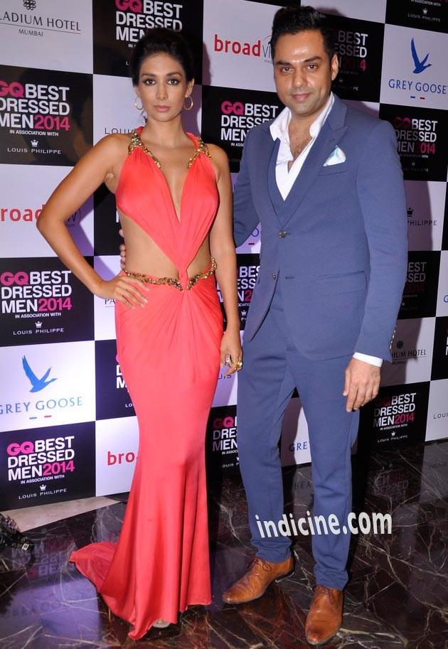 Preeti Desai with Abhay Deol