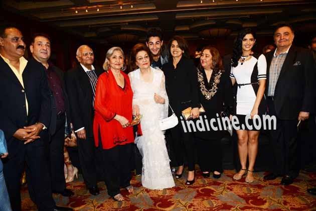 Rajeev Kapoor, Ritu Nanda, Armaan Jain, Neetu Singh, Rima Jain, Deeksha Seth and Rishi Kapoor