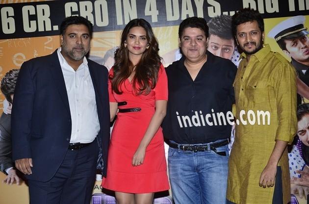 Ram Kapoor, Esha Gupta, Sajid Khan and Ritesh Deshmukh