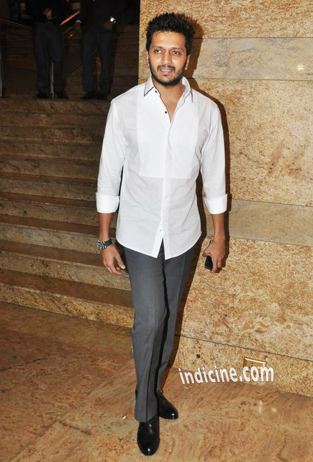 Ritesh Deshmukh at Dilip Kumar's autobiography launch red carpet