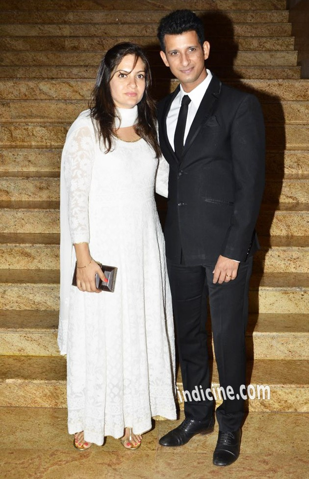 Sharman Joshi with wife Prerana