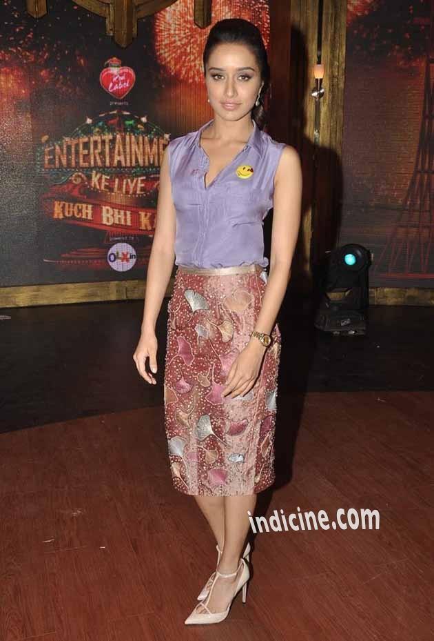 Shraddha Kapoor promotes Ek Villain