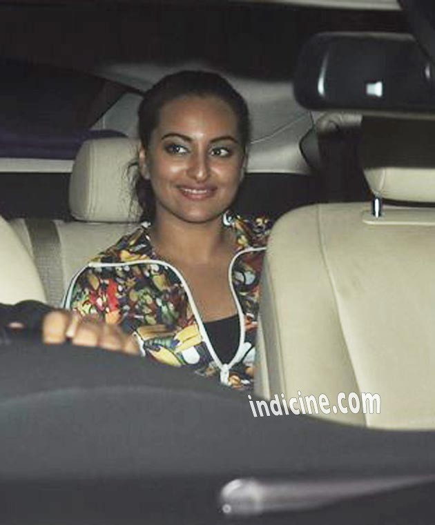 Sonakshi Sinha at Holiday screening