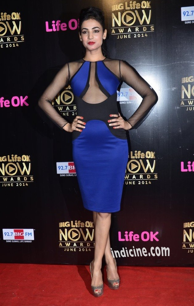 Sonal Chauhan at Big Life OK Now Awards