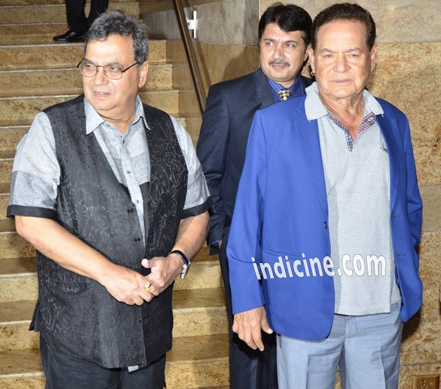 Subhash Ghai with Salim Khan