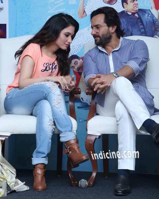 Tamanna Bhatia with Saif Ali Khan