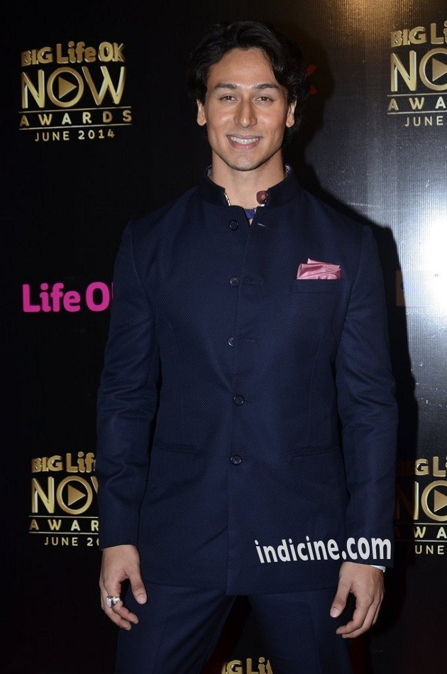 Tiger Shroff at Big Life OK Now Awards 2014