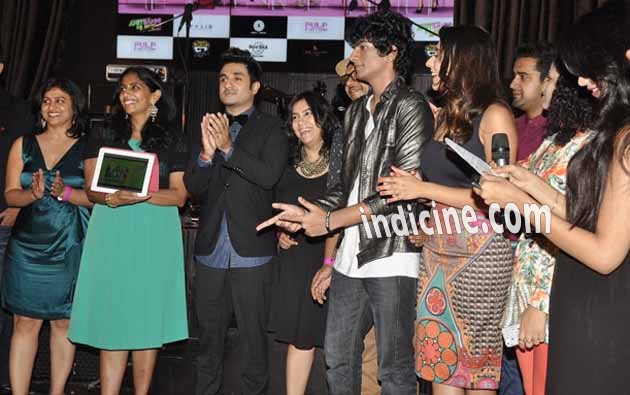 Vir Das, Palash Muchhal, Anindita Nayar and Palak Muchhal