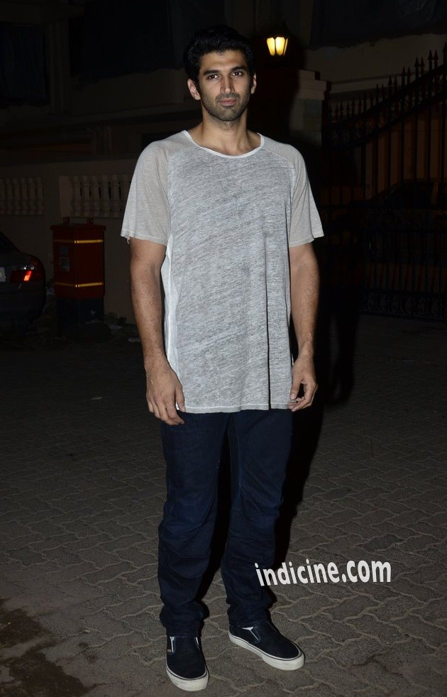 Aditya Roy Kapoor at Ek Villain success bash