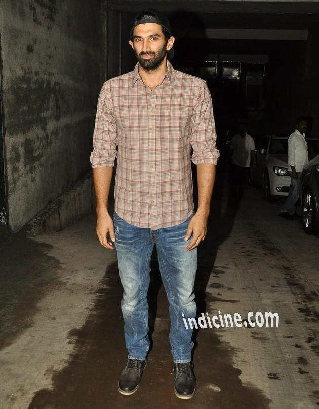 Aditya Roy Kapoor at special screening of Bobby Jasoos at Lightbox