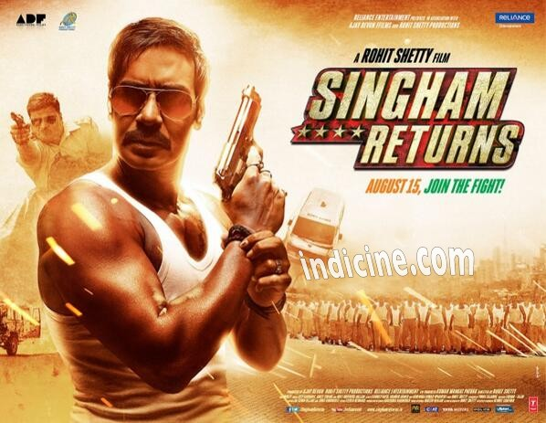 Ajay Devgan's Singham Returns First Look