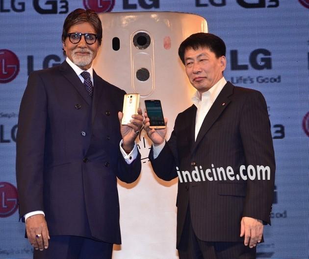Amitabh Bachchan with Soon Kwon