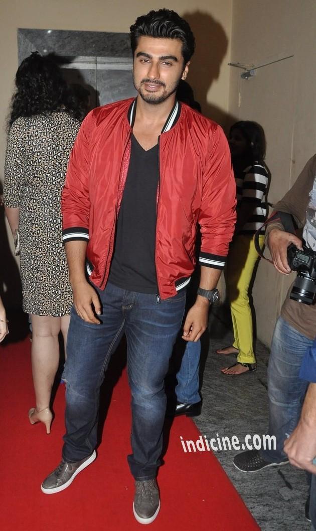 Arjun Kapoor at Lekar Hum Deewana Dil premiere
