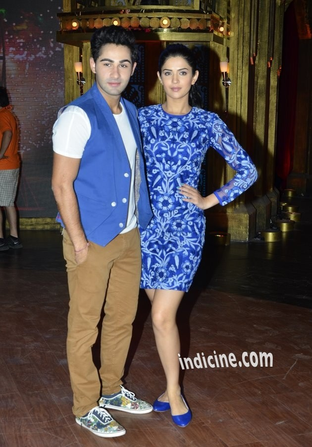 Armaan Jain, Deeksha Seth promote Lekar Hum Deewana Dil on Entertainment Ke Liye Kuch Bhi Karega