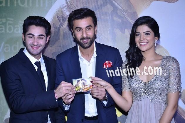 Armaan Jain, Ranbir Kapoor and Deeksha Seth