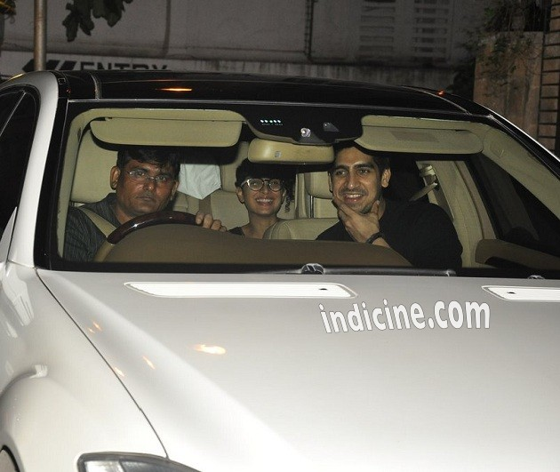 Ayan Mukerji with Kiran Rao