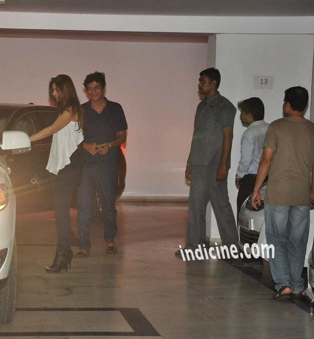 Chunky Pandey at Karan Johar's party
