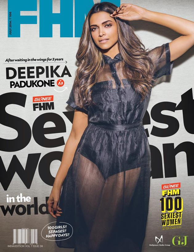 Deepika Padukone on FHM Magazine Cover