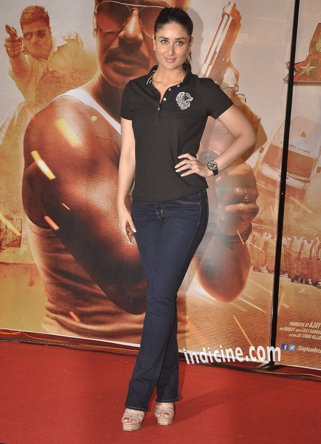 Kareena Kapoor at Singham Returns trailer launch