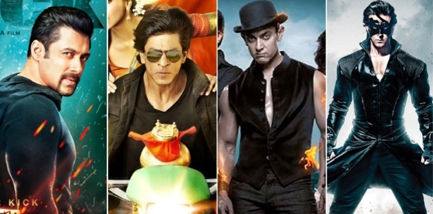 Kick Vs Krrish 3 Vs Dhoom 3 Vs Chennai Express Box Office