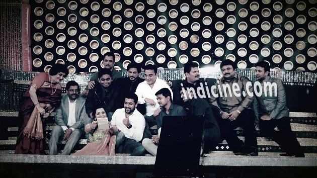 Latha Rajinikanth, A R Rahman, Shahrukh Khan, Kamal Haasan, Prabhu, Surya and Vijay