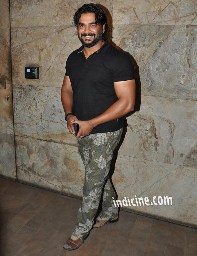 Madhavan at special screening of Bobby Jasoos at Lightbox