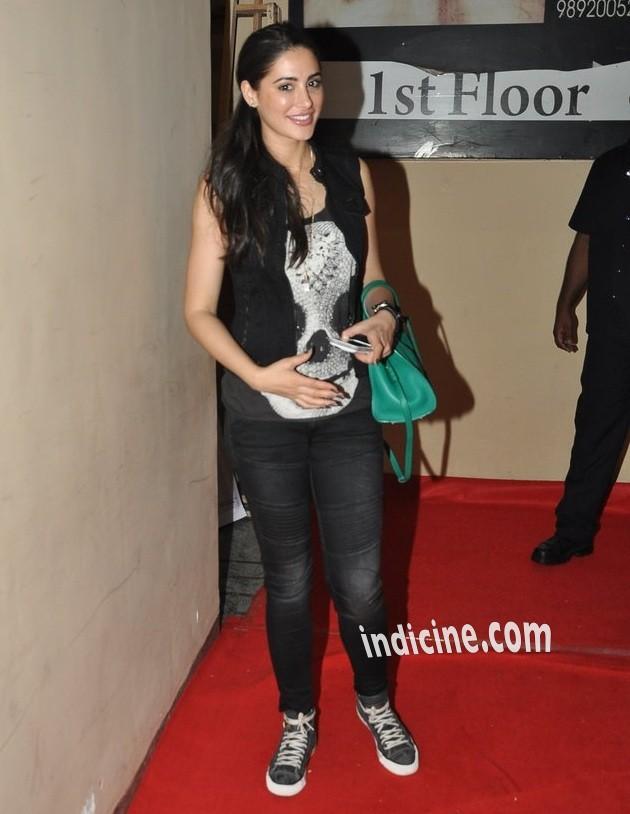 Nargis Fakhri at Lekar Hum Deewana Dil premiere