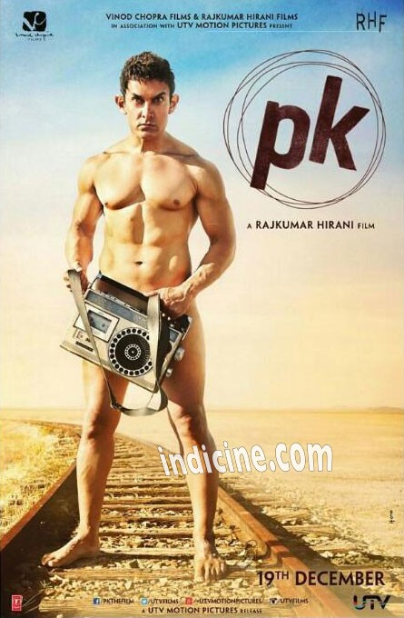 PK First Look - Aamir Khan