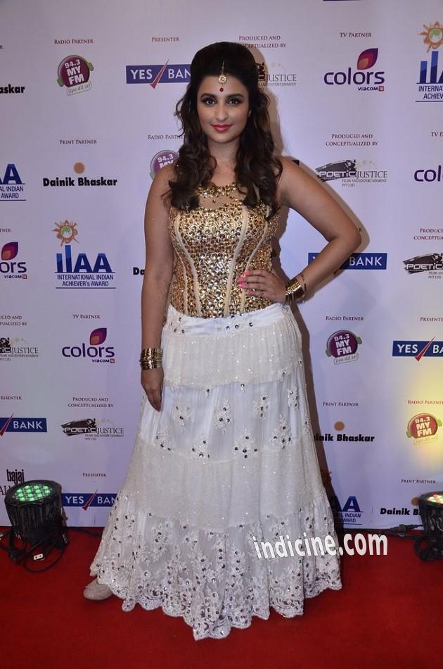 Parineeti Chopra at International Indian Achievers Awards 2014