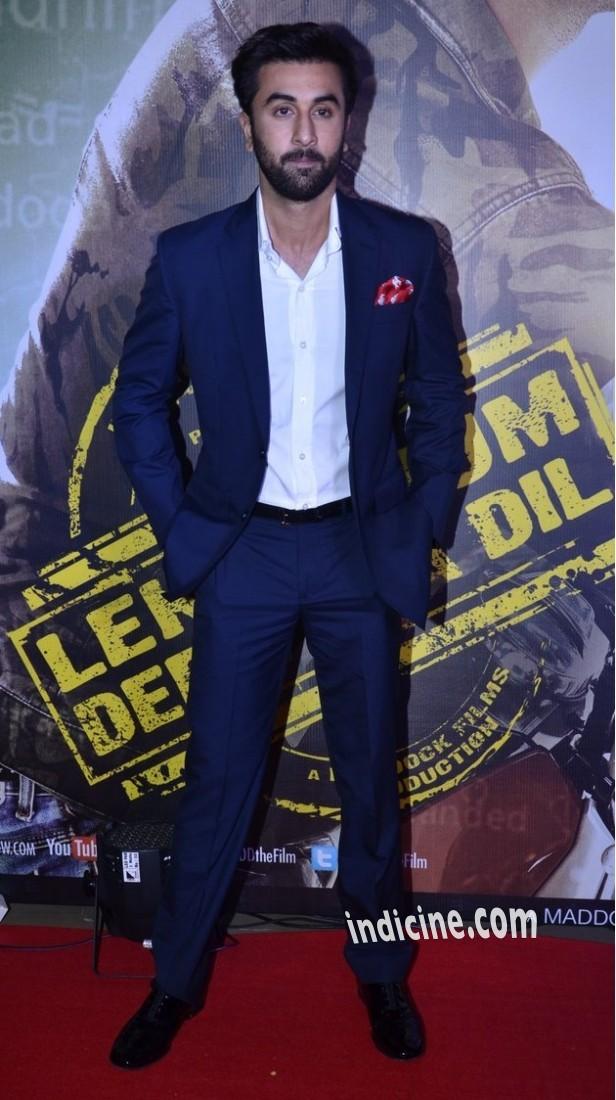 Ranbir Kapoor at Lekar Hum Deewana Dil premiere